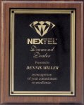 Plaque with Square Plate Award Recognition Plaques