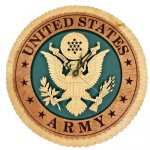 U.S. Army Standard Wall Clock Tribute US Army