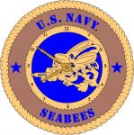 U.S. Navy Premier Wall Clock Tribute US Navy