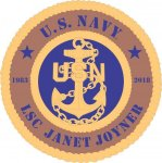 U.S. Navy Custom Wall Tribute US Navy