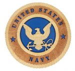 U.S. Navy Standard Wall Tribute US Navy